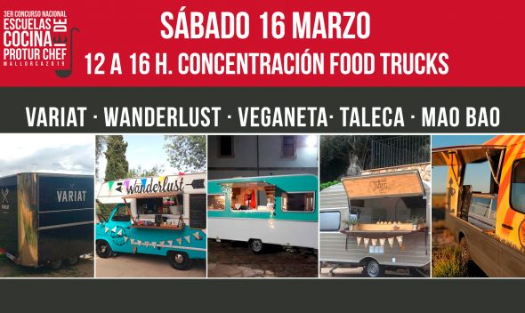 Concentración Food Trucks Protru Chef
