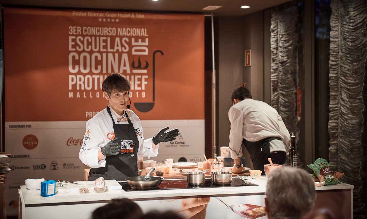 Silvia Anglada Show Cooking 2019 Slow food a la Menorquina